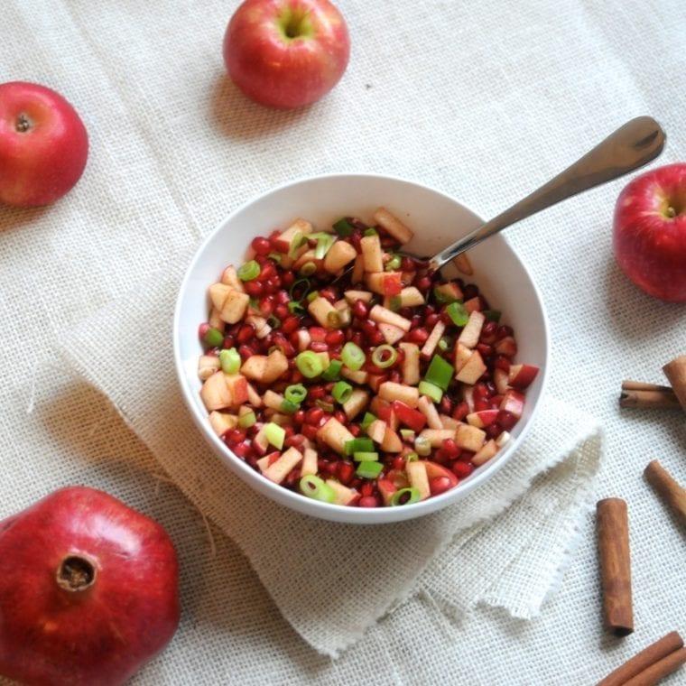Image of Apple Cinnamon Pomegranate Salsa