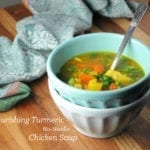 Image of Nourishing Turmeric No-Noodle Chicken Soup