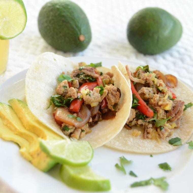 Image of Maui Turkey Tacos