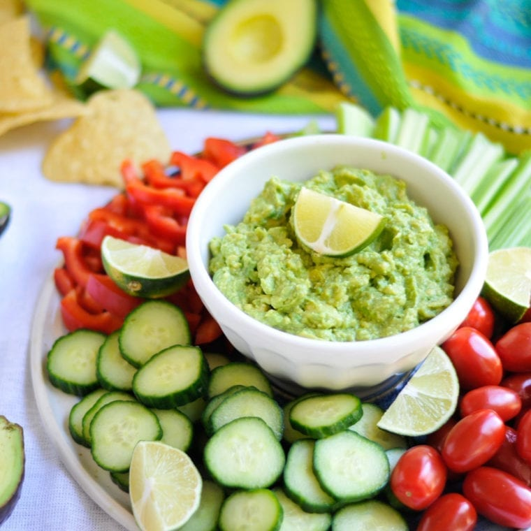 Image of The Easiest 4-Ingredient Guacamole