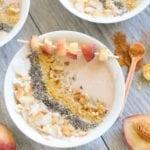 Image of Peach Pie Smoothie Bowls