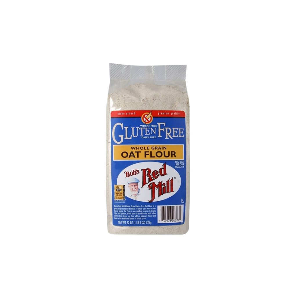 bag of gluten free oat flour