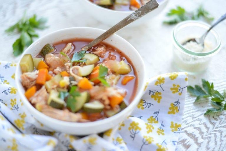 Image of Slow Cooker Chicken, Veggie, and Quinoa Stew
