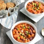 Image of Slow Cooker Sweet Potato Apple Cider Chili