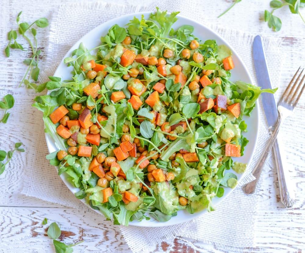 Image of Sweet Pea Power Salad
