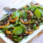 Image of Autumn Lentil Salad with Maple Mustard Dressing