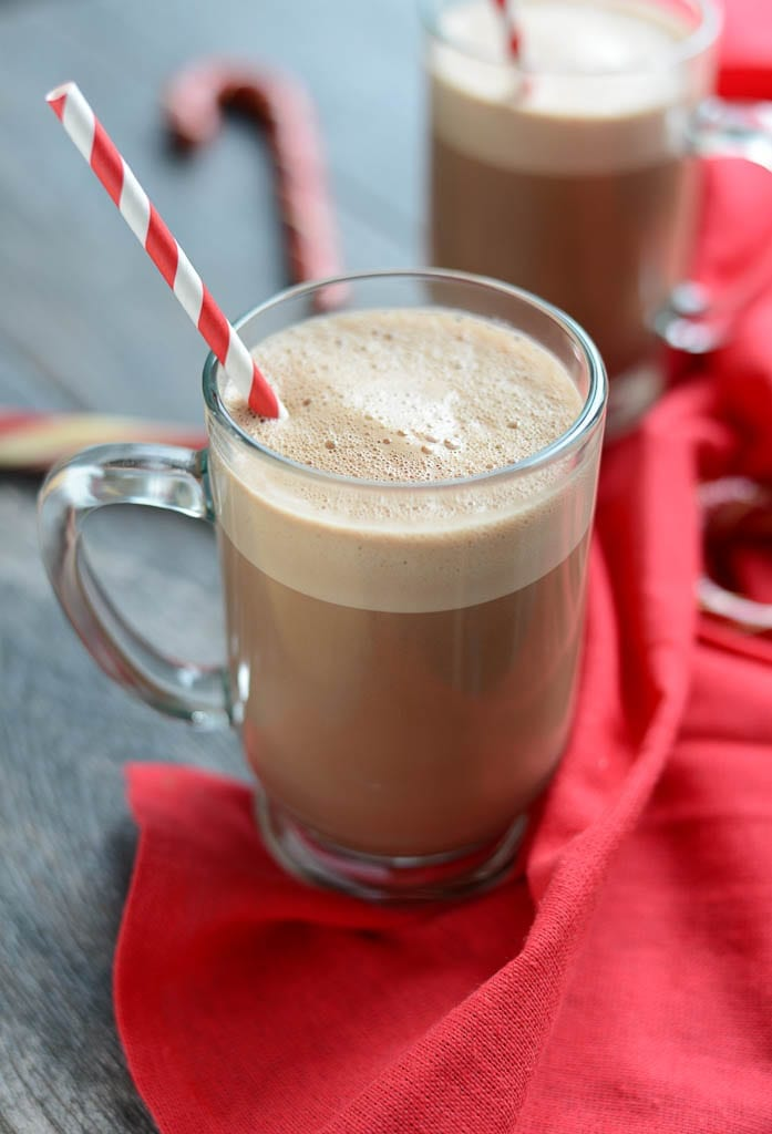 Image of Peppermint Hot Cocoa (Dairy-Free, Refined Sugar-Free)