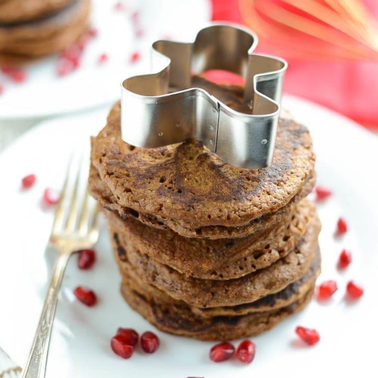 Image of Gingerbread Pancakes (Gluten-Free, Dairy-Free)