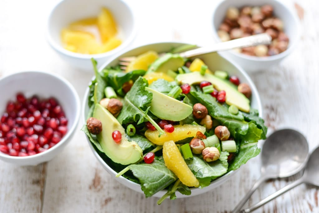 Image of Celebration Salad with Citrus Dressing