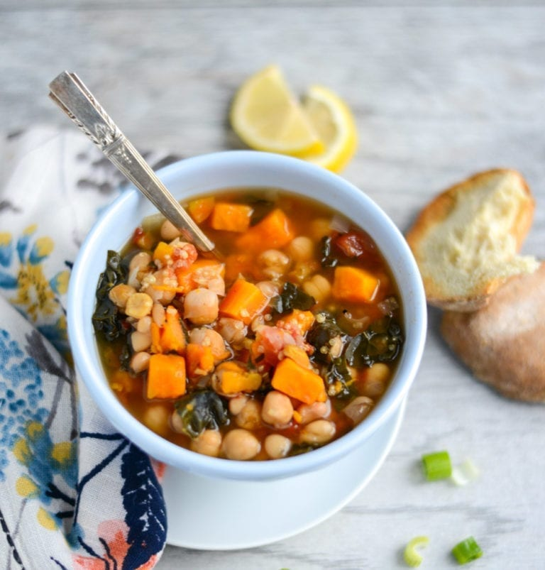 image of 10-Ingredient Slow Cooker Vegetable and Quinoa Stew