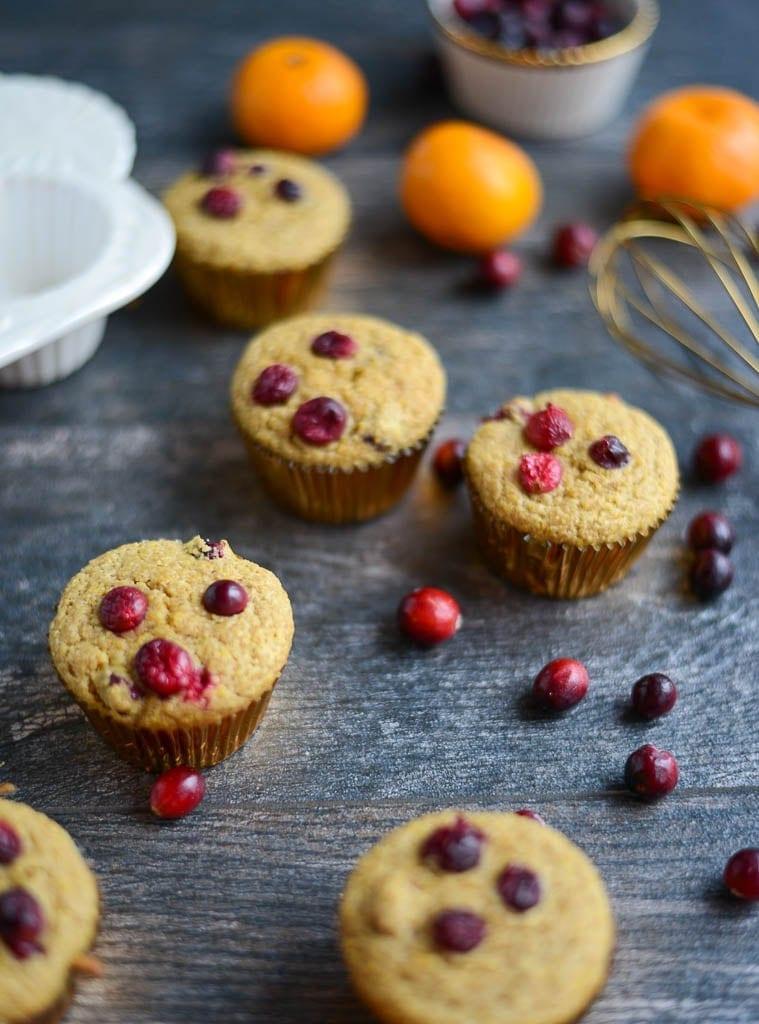 Image of One-Bowl Cranberry Orange Muffins