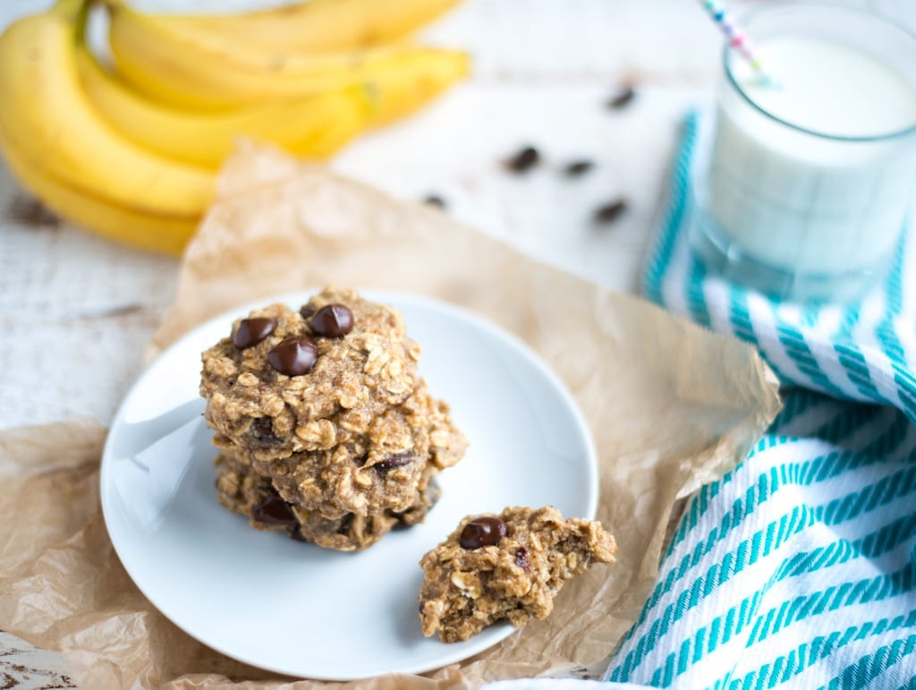 Image of One-Bowl Banana Oat Chocolate Chip Breakfast Cookies