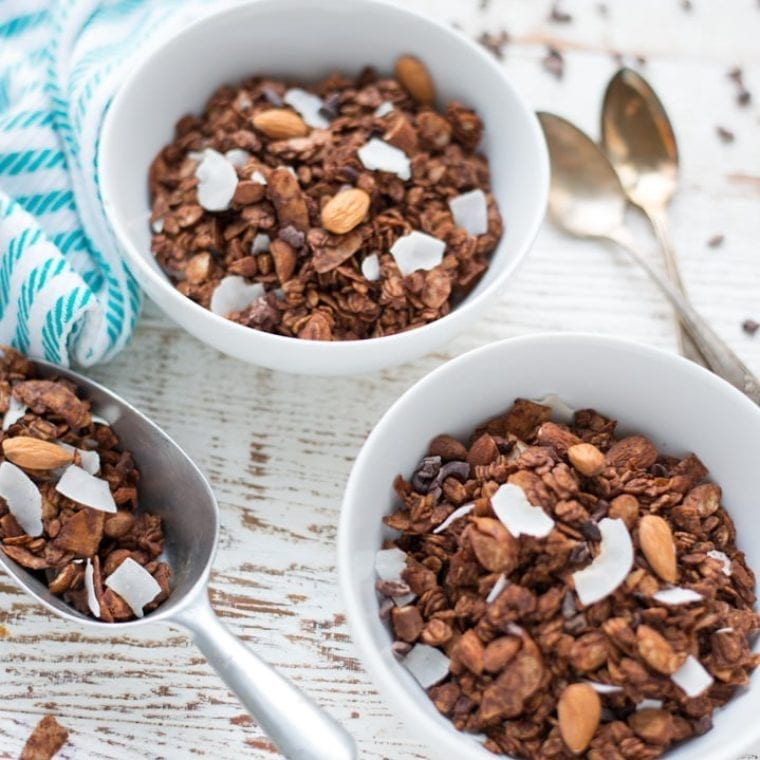 Image of Double Chocolate Almond Joy Granola