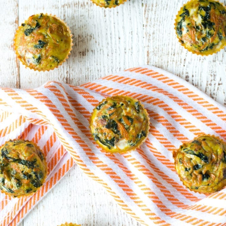 Image of Make-Ahead Kale and Sweet Potato Egg Cups