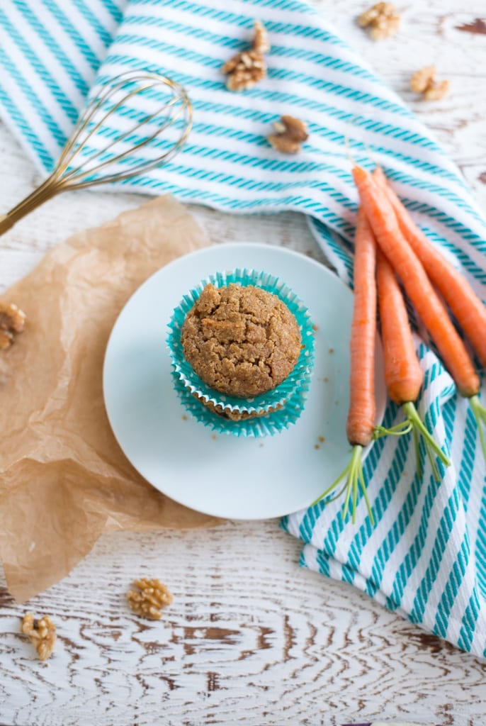 Image of One-Bowl Carrot Cake Muffins