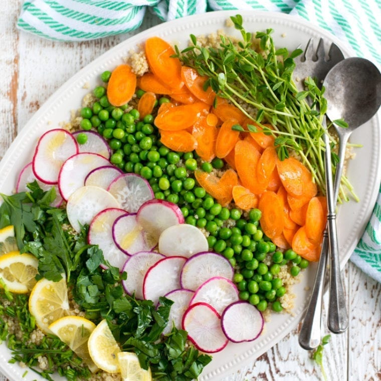 Image of Vibrant Spring Quinoa Salad