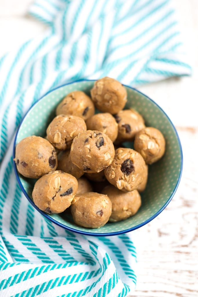Image of One-Bowl Monster Cookie Dough Bites (Naturally Sweetened)
