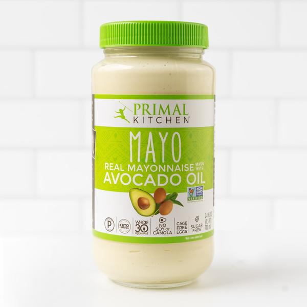 primal kitchen avocado mayonnaise jar