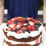 Image of Naturally Red, White and Blue Berry Shortcake