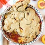 Image of Homestyle Peach Cobbler (Gluten-Free, Dairy-Free)