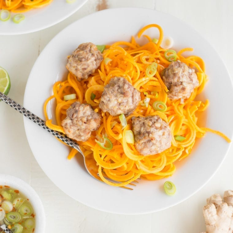 Image of 5-Ingredient Potsticker Turkey Meatballs