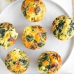 Image of Make-Ahead Butternut, Spinach & Sausage Egg Cups