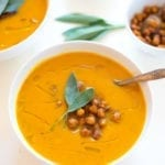 Image of Slow Cooker Sweet Potato, Apple, & Turmeric Soup