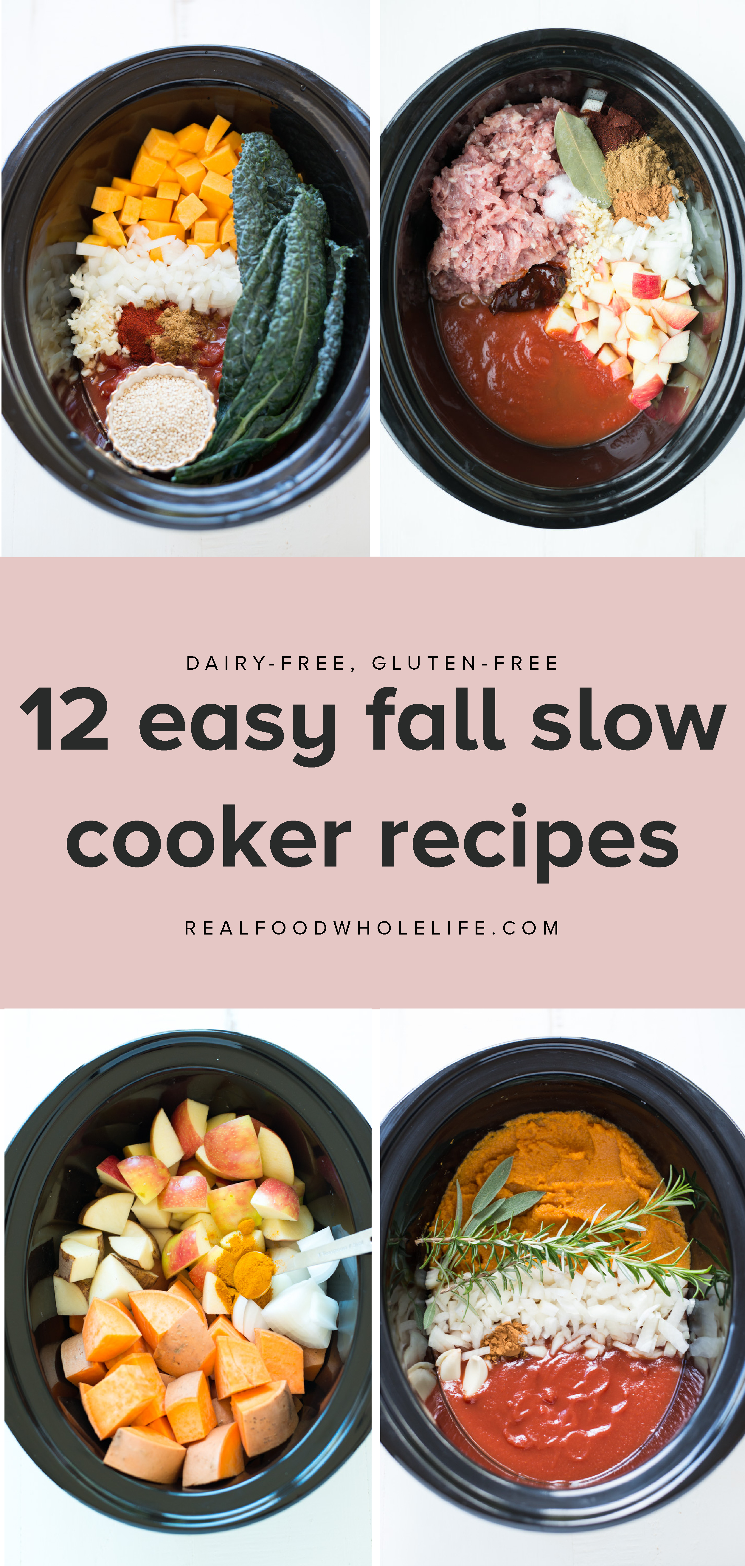 12 Easy Healthy Fall Slow Cooker Recipes To Just Throw In Your
