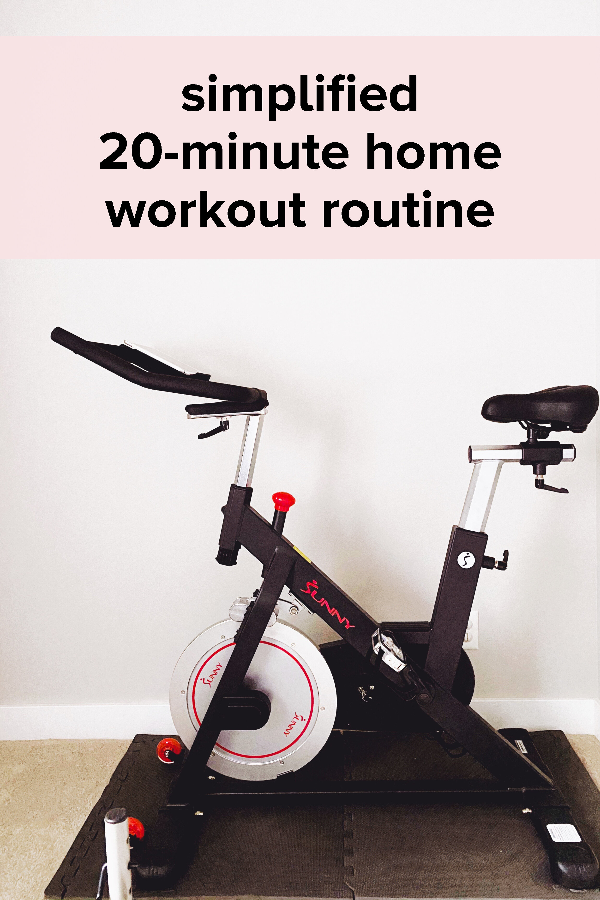 How To Use The Peloton App Without A Peloton Bike My Simplified Home Workout Routine Real Food Whole Life