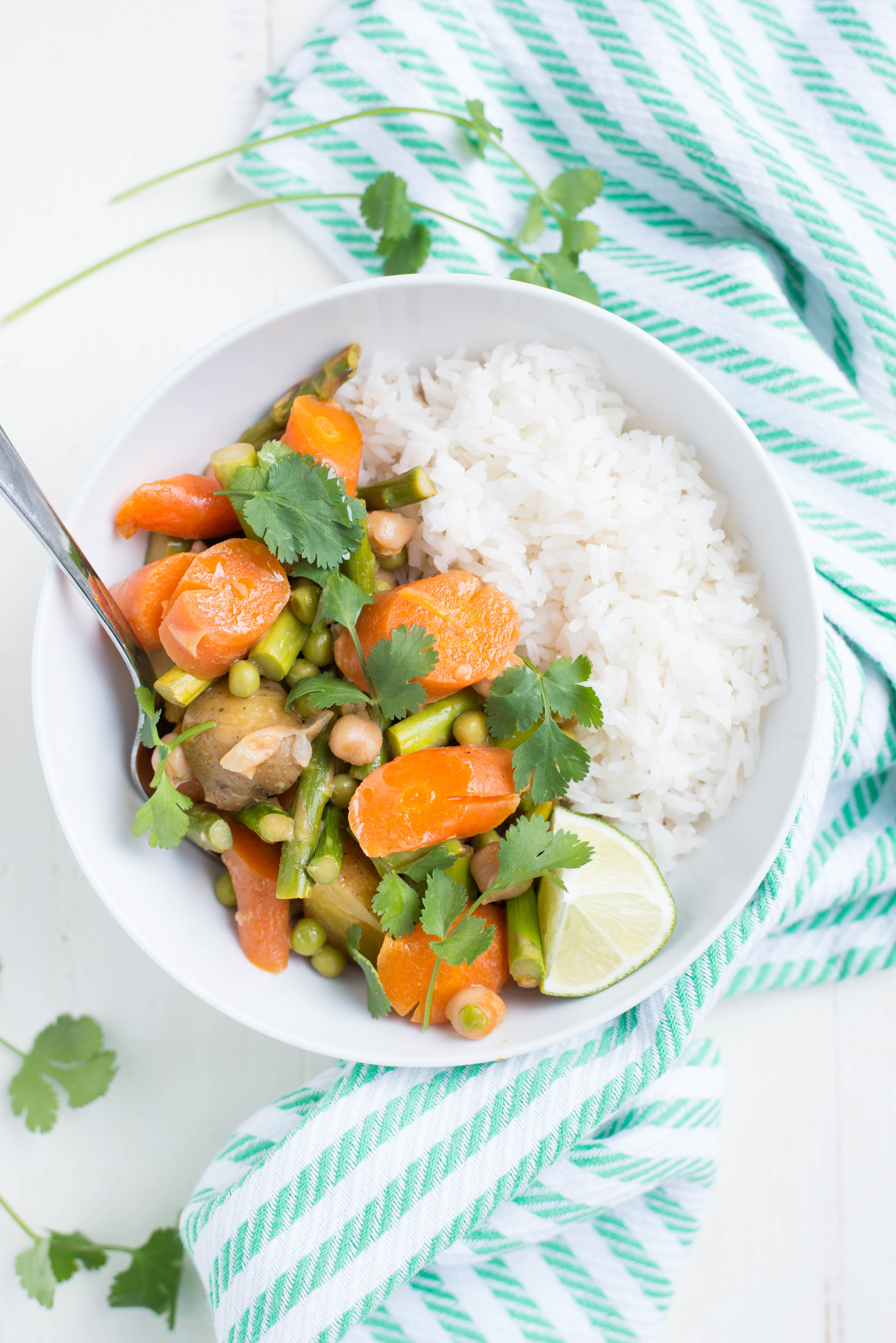 Slow Cooker Spring Veggie Coconut Curry Real Food Whole Life