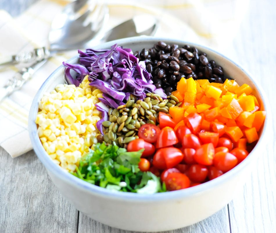 Easy Southwest Quinoa Bowls Real Food Whole Life