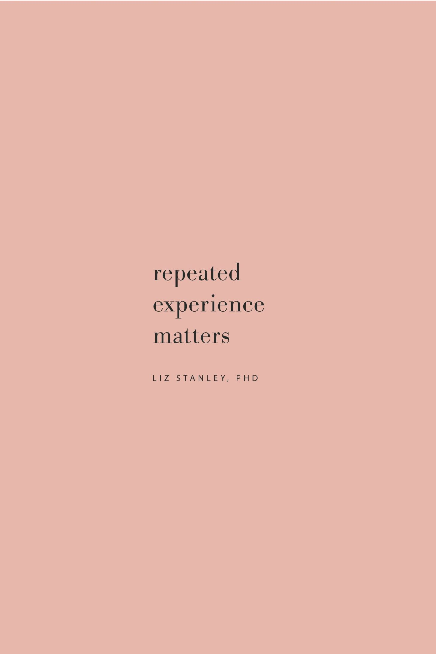 Quote on repeated experiences and practice by Dr. Liz Stanley on the Feel Good Effect Podcast. #realfoodwholelife #feelgoodeffectpodcast #stressquote #wellnessquote #inspirationalquote #positivityquote #motivationalquote #resiliencequote #joyfulquote #happinessquote #learningquote