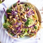 Image of Veggie Noodle Bowls with 5-Ingredient Peanut Sauce