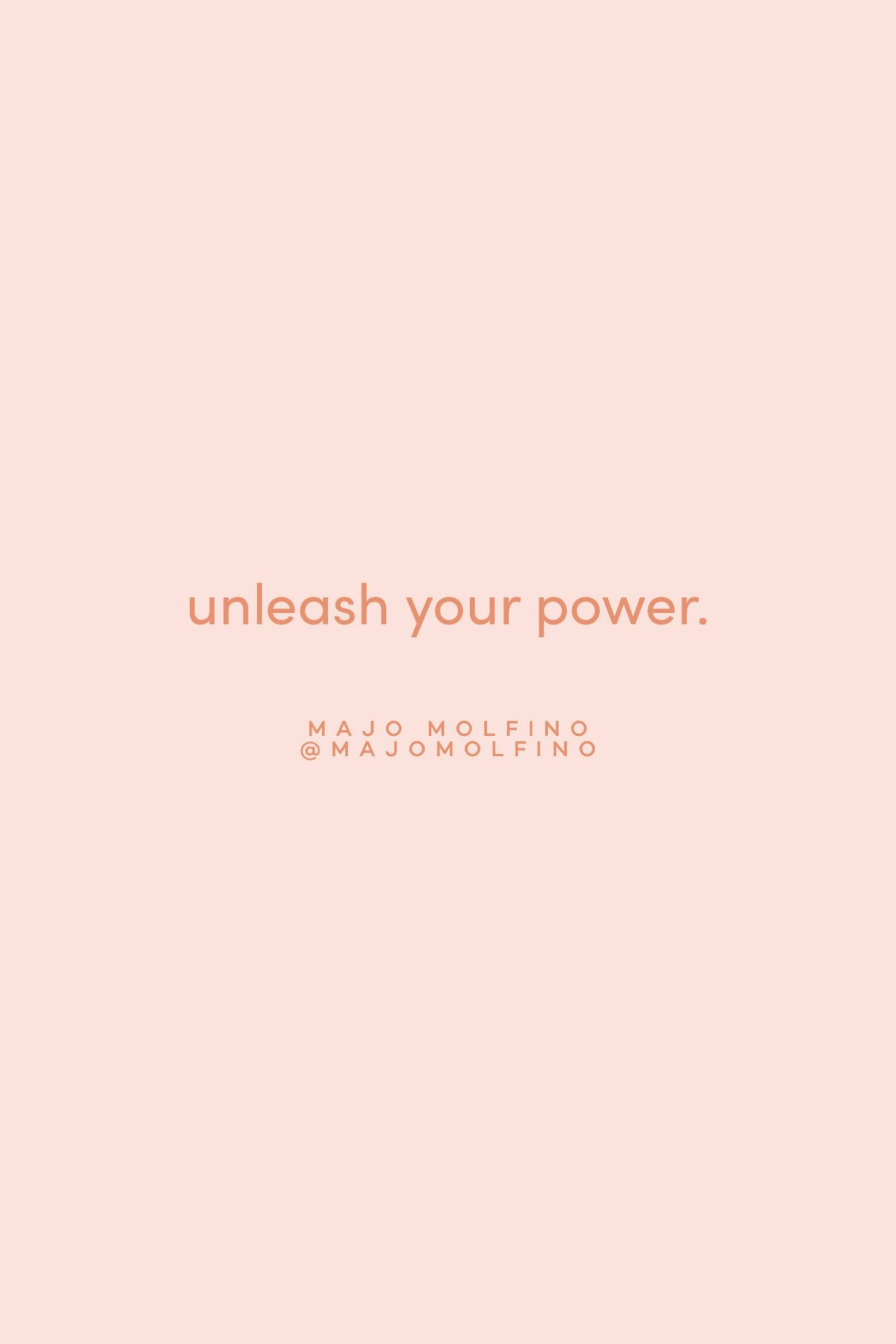 Quote on unleashing your power by Majo Molfino on the Feel Good Effect Podcast #realfoodwholelife #feelgoodeffectpodcast #motivationalquote #positivityquote #inspirationalquote #growthquote #powerquote