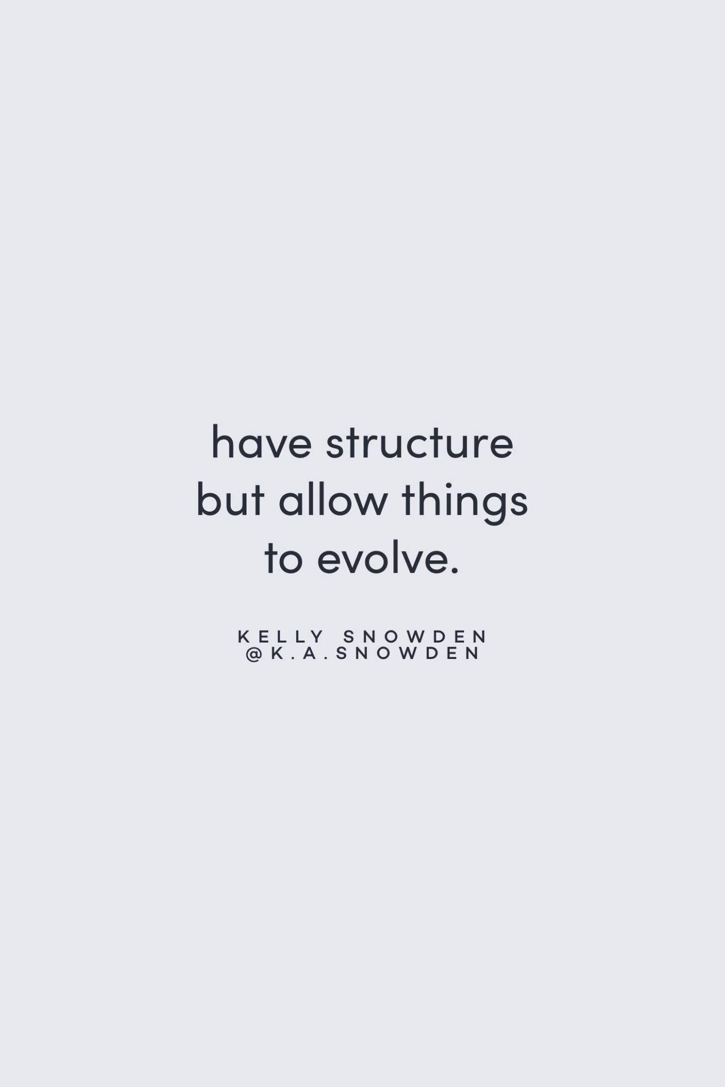 Quote on structure and flexibility by Kelly Snowden on the Feel Good Effect Podcast #realfoodwholelife #feelgoodeffectpodcast #motivationalquote #positivityquote #inspirationalquote #structurequote #priorityquote #flexibilityquote #perfectionismquote