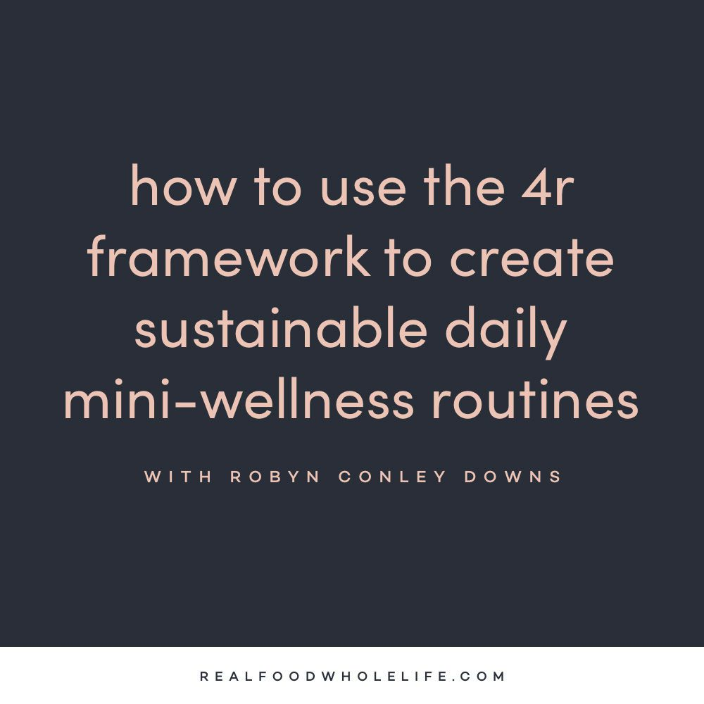 Create a sustainable daily wellness routine on the Feel Good Effect Podcast